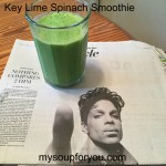 Key Lime Spinach Smoothie